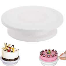Вращающаяся подставка для торта поворотный столик, h - 6,5 см.