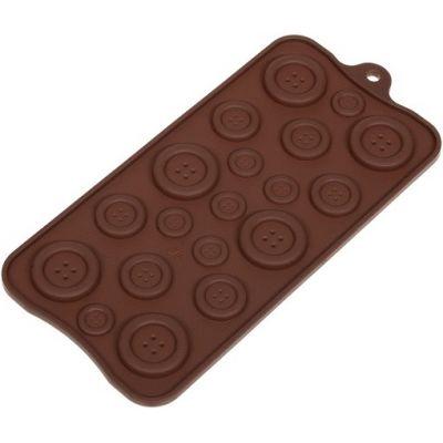 """Форма для шоколада """"Пуговки"""""""