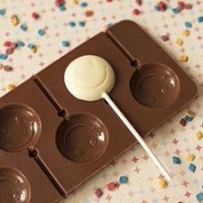"""Форма для леденцов и шоколада """"Смайл"""""""
