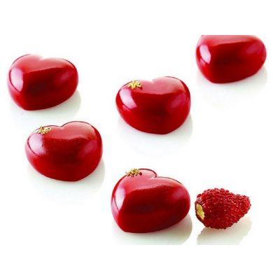 """Форма для конфет и пирожных  """"Микро сердца"""", 35 шт."""