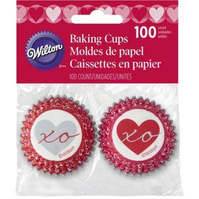 Вилтон/Wilton Бумажная капсула для конфет Святой Валентин