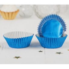 Бумажная капсула синяя, 24 шт