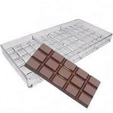 "Форма для шоколада  ""Плитки шоколада"", поликарбонат"