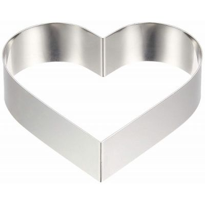 Форма-резак Сердце 18 см., h=5 см.