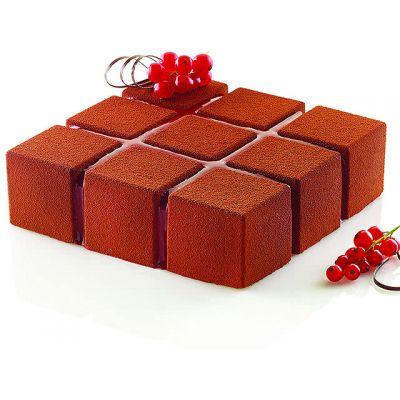 """Форма для муссового торта """"Квадраты"""""""