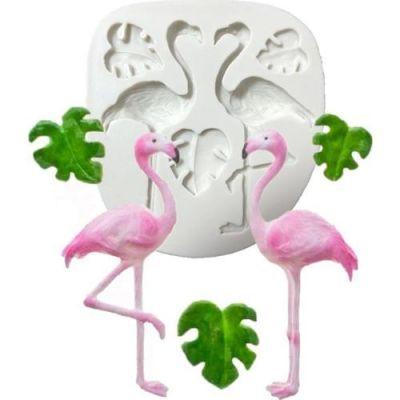 "Молд для мастики и шоколада ""Фламинго"""
