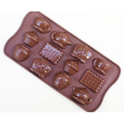 "Форма для шоколада ""Чаепитие"""