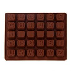 "Форма для шоколада ""Алфавит"""