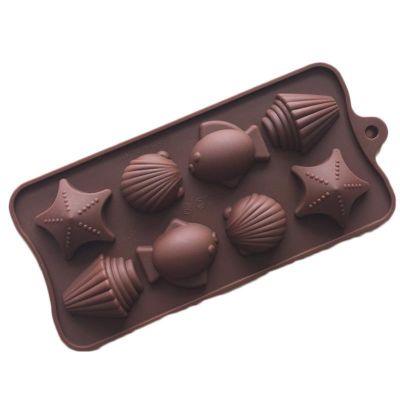 """Форма для шоколада """"Морская"""""""