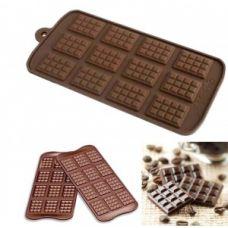 "Форма для шоколада ""Плитки шоколада"""