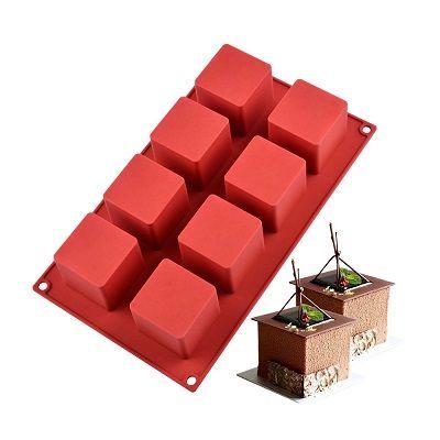 """Форма для выпечки """"Кубик"""", 8 ячеек"""