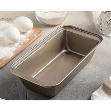 Металлическая форма для выпечки хлеба и кексов, 25*13*6 см