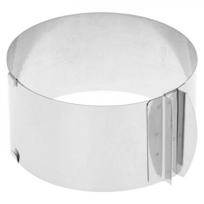 Раздвижная форма для выпечки Кольцо - трансформер, 15-20 см.
