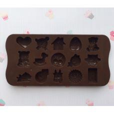 "Форма для шоколада ""Микс"""