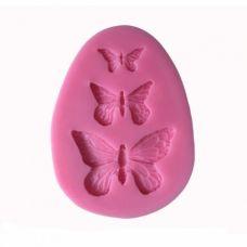 """Молд для мастики и шоколада """"Бабочки"""""""
