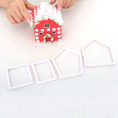 Набор вырубок для создания пряничного домика, маленький