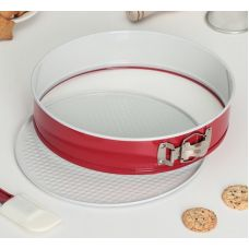 Разъемная форма для выпечки керамическим покрытием, 24 см.