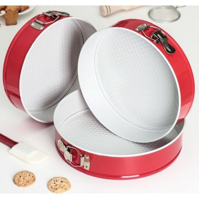 Разъемная форма для выпечки керамическим покрытием, 28 см.