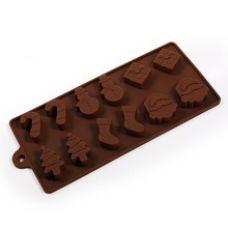 "Форма для шоколада ""Новогодняя"""