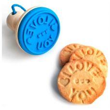 Набор штампиков для печенья, 3 предмета