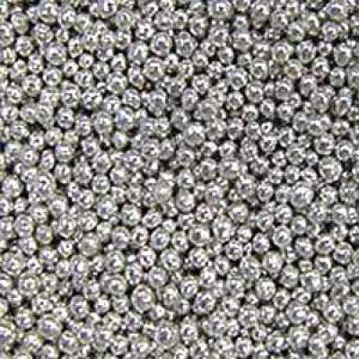 Посыпка Шарики серебряные, 3 мм. (50гр.)