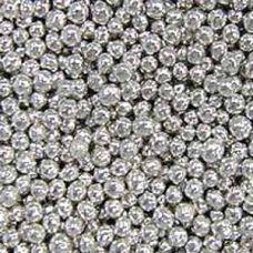 Посыпка Шарики серебряные, 5 мм.
