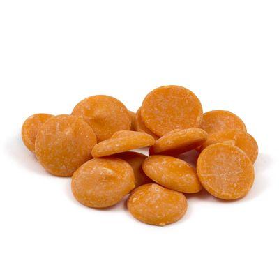 Апельсиновый бельгийский шоколад Callebaut в галетах
