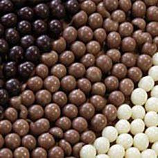 Шоколадные шарики Кранч белые (Италия)