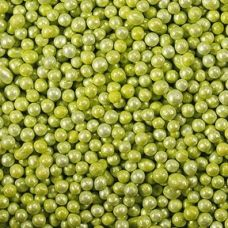 Посыпка Шарики зеленые перламутровые