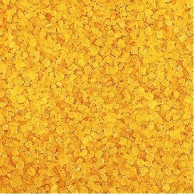 Декоративный сахар Желтый, 75 гр.
