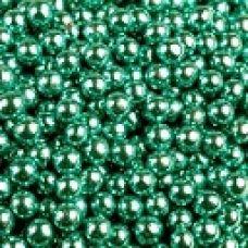 Посыпка Шарики голубые металл., 5 мм