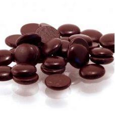 Горький  шоколад 70,4% Callebaut в галетах, 2,5 кг.