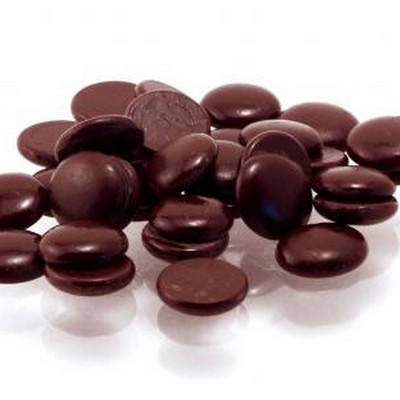 Горький бельгийский шоколад Callebaut в галетах