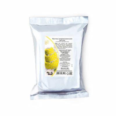 Мастика сахарная желтая