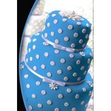 Мастика сахарная синяя, 100 г
