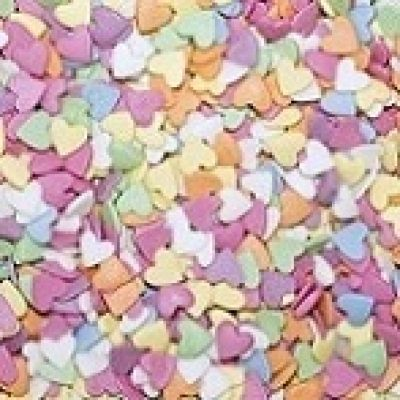 Посыпка Сердечки разноцветные (50 гр.)