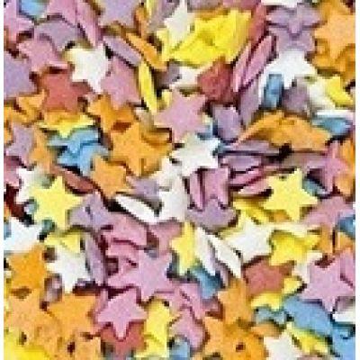 Посыпка Звезды разноцветные (50 гр.)