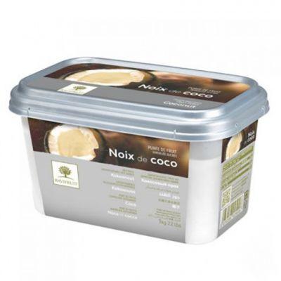 Фруктовое пюре замороженное Ravifruit Кокос, 1 кг.