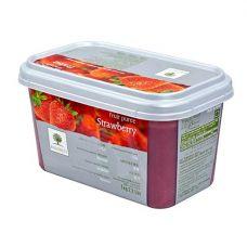Фруктовое пюре замороженное Ravifruit Клубника, 1 кг.
