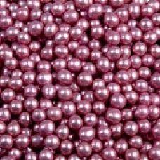 Посыпка Шарики розовые металл, 5 мм