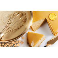 Белый шоколад со вкусом карамели Callebaut Gold в галетах, 200 гр.