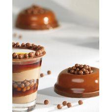 Шоколадные шарики с хрустящим слоем из молочного шоколада Mona Lisa, 50 г