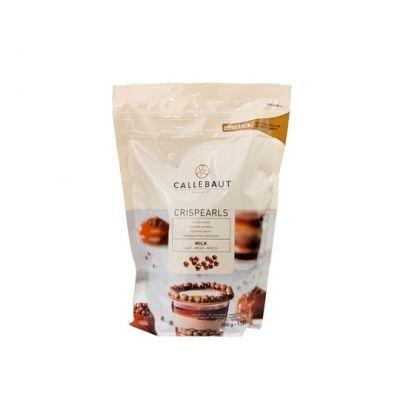 Шоколадные шарики с хрустящим слоем Callebaut молочные, 50 гр.