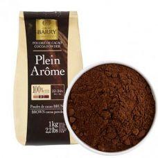 Какао-порошок Plein Aroma 22/24% Cacao Barry, 1 кг.
