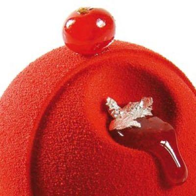 Шоколадный декор-аэрозоль ДОЛЬЧЕ ВЕЛЮТО красный