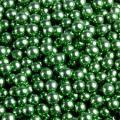 Посыпка Шарики зеленые металл, 5 мм