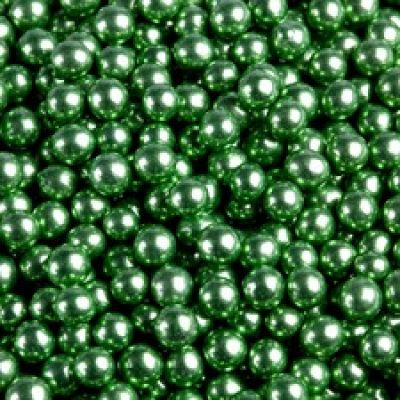 Посыпка Шарики зеленые, 5 мм (50 гр.)