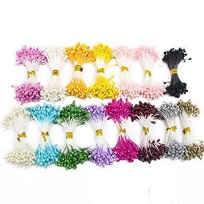 """Тычинки для искусственных цветов """"Капельки"""", 100 шт."""
