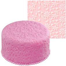 """Рельефный коврик для мастики """"Цветы"""""""