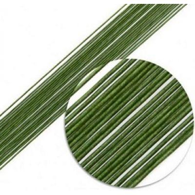 Кондитерская проволока зеленая (длина 60 см), 10 шт.